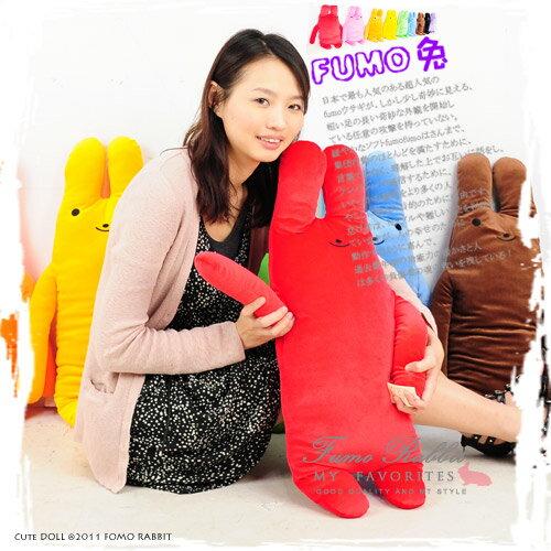 綿綿兔玩偶(中)(fumo.娃娃.絨毛玩具.抱枕.兔子.午睡抱枕.午睡枕.睡覺枕.睡覺抱枕.便宜)