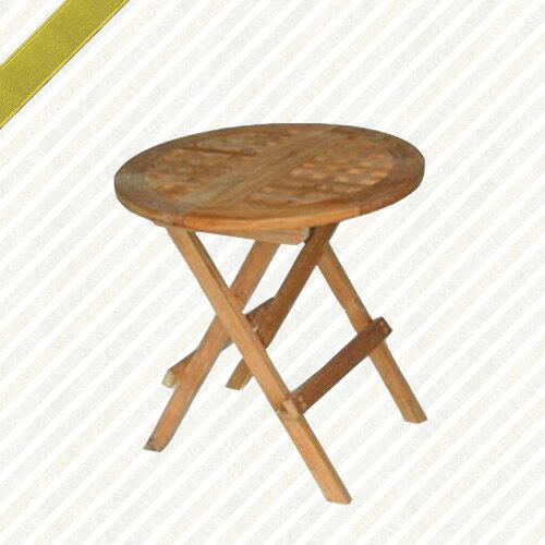 50cm折合茶几(木桌子.原木桌.庭院桌.庭院傢俱.便宜)