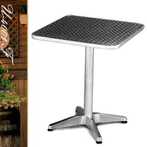 60CM鋁製正方桌(鋁全包邊)方型茶几.置物桌.洽談桌.餐桌子.休閒桌.庭園桌.傢俱家具傢具特賣會