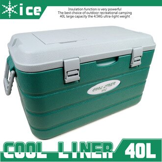 [COOL LINER] 40公升40L行動冰箱(釣魚冰桶.保冰桶.保冰袋.保溫桶.保溫袋.保冷箱.便宜.推薦)(反服貿休息站)