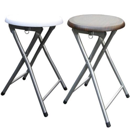 木制圆形椅座-折叠椅子(6入/组)(折叠椅.折合椅.摺叠椅子.客厅家俱.