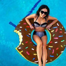 【美國BIGMOUTH】造型泳圈 巧克力甜甜圈款 ((團購省運費)) 1