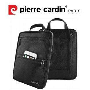 [ iPad Air/Air 2 ] Pierre Cardin法國皮爾卡登9.7吋簡約真皮手提平板包
