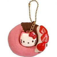 愚人節 KUSO療癒整人玩具周邊商品推薦Hello Kitty 甜甜圈 吊飾 鑰匙扣 日本限定正版商品