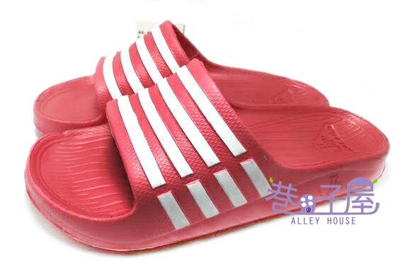 【巷子屋】JIMMY POLO 女款經典條紋超輕量拖鞋 [65002] 桃粉 超值價$190