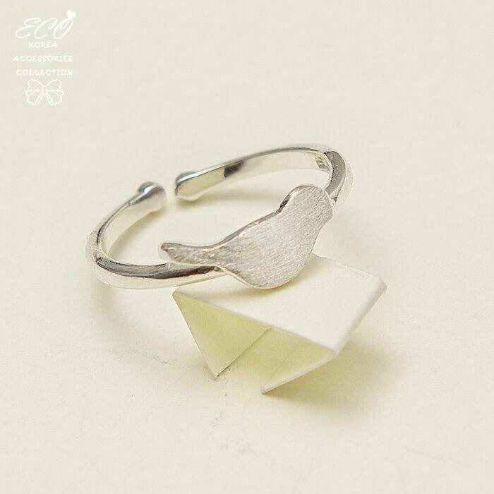 可愛小鳥戒指,925純銀,純銀戒指,925純銀戒指,純銀飾品,戒指