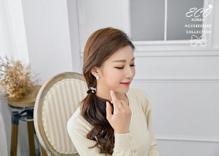 孔雀,華麗,珍珠,夾式耳環,無耳洞耳環,韓製,韓國,耳環