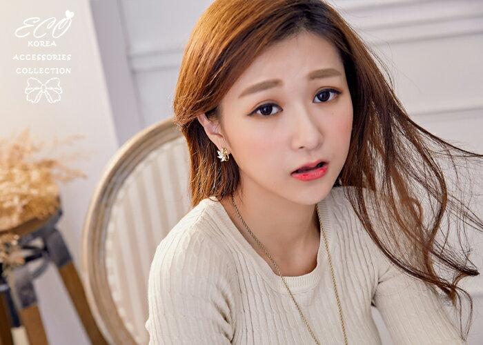 珍珠,鑽,耳釦,夾式耳環,無耳洞耳環,韓製,韓國,耳環