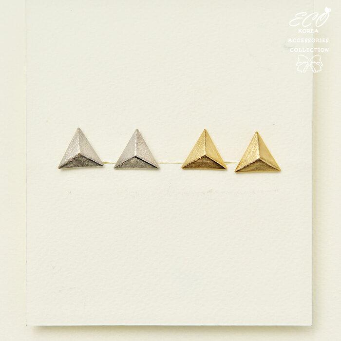 三角形夾式耳環,夾式耳環,無耳洞耳環