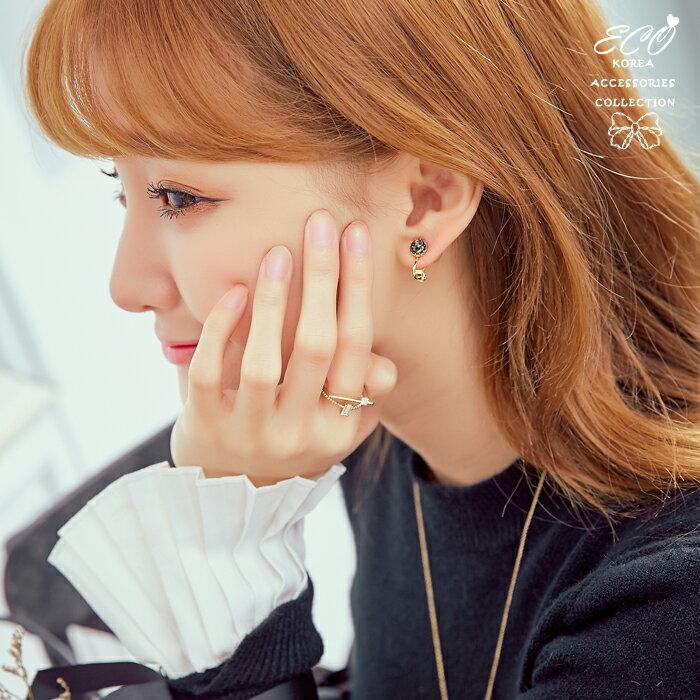珍珠,蛋白石,夾式耳環,無耳洞耳環,韓製,韓國,耳環