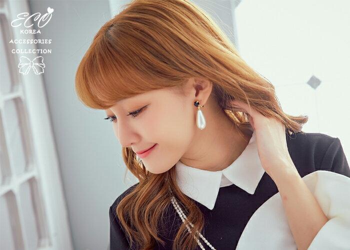珍珠夾式耳環,夾式耳環,無耳洞耳環