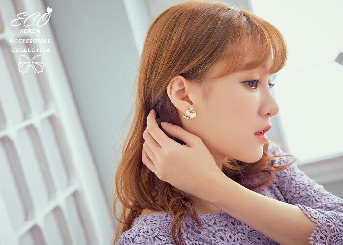珍珠夾式耳環,夾式耳環,無耳洞耳環,螺旋夾耳環