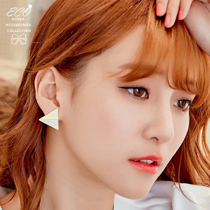 三角形夾式耳環,無耳洞耳環,螺旋夾耳環