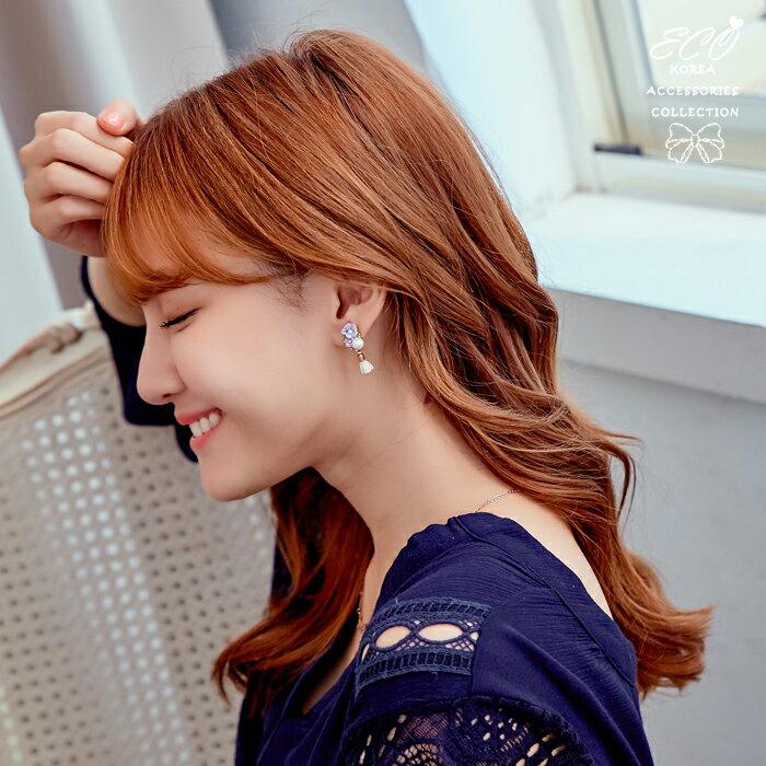 珍珠夾式耳環,花朵夾式耳環,無耳洞耳環,螺旋夾耳環