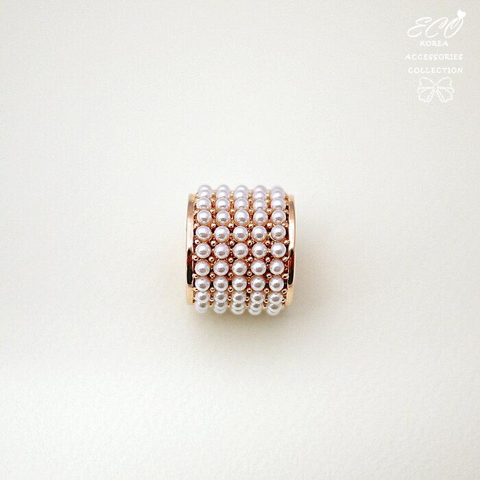 玫瑰金,珍珠,絲巾釦,絲巾環,方邊