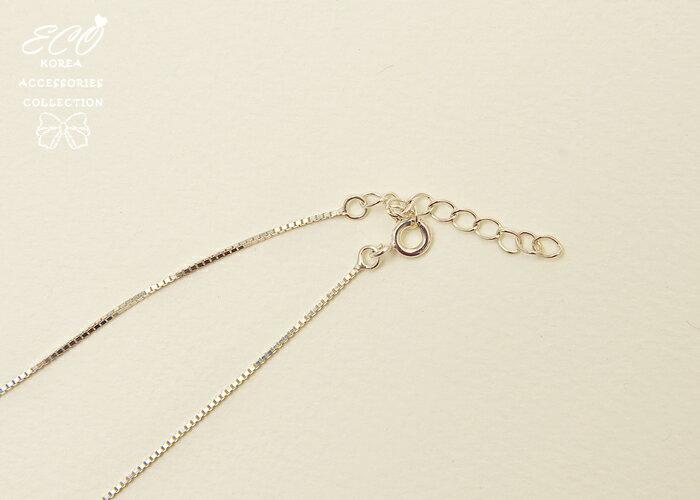 相思豆,幸運豆,鑽,線條,鎖骨項鍊,項鍊,韓貨,韓製,項鍊,925純銀,義大利純銀