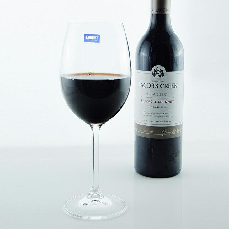 【曉風】水晶紅酒杯6入裝*《Banquet Crystal 歐洲水晶紅酒杯 450ml 》 0