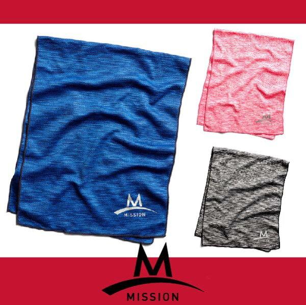 萬特戶外運動 MISSION 161-1074XXIN涼感毛巾 美國急凍酷涼機能涼感散熱毛巾