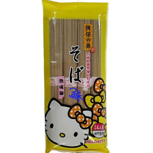 (日本) [Kanesu製麵]揖保之舞熟成蕎麥麵(黃) 1包320公克 特價 133 元 【4972328632026】(Hello Kitty 熟成蕎麥麵)