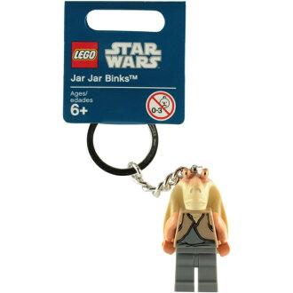 ►法西歐_桃園◄  LEGO 樂高 KEYCHAIN 鑰匙圈 STAR WAR 星際大戰 Jar Jar Binks 恰恰‧賓克斯