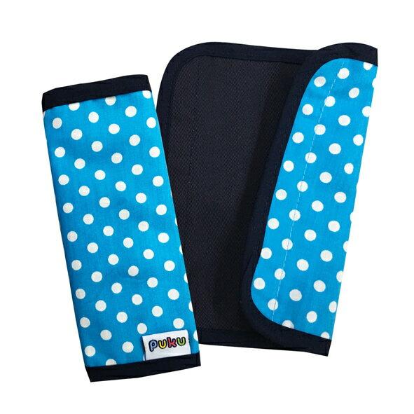 PUKU藍色企鵝 - 推車把手保護套2入 (水點)