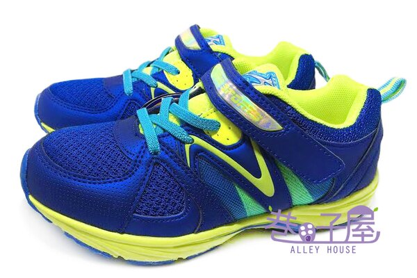 【巷子屋】KOYO 男童亮彩超輕量運動慢跑鞋 [45956] 藍綠 超值價$198