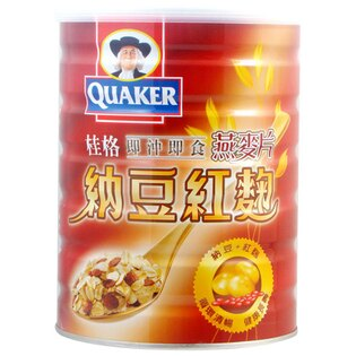 QUAKER桂格 即沖即食納豆紅麴燕麥片700g