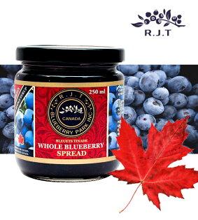 加拿大R.J.T天然楓糖藍莓果醬