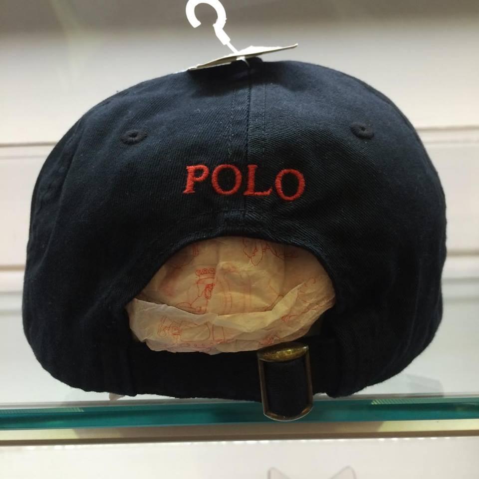 BEETLE POLO RALPH BASEBALL CAP 全黑 黑紅 馬球 LOGO 可調式 老帽 棒球帽 MN-384 1