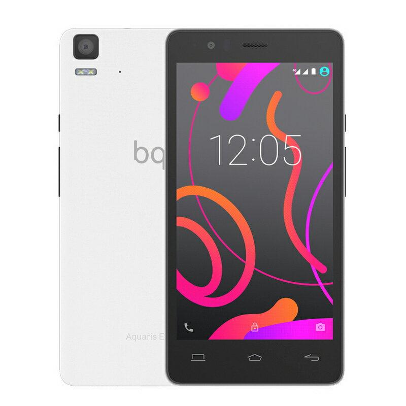 BQ AQUARIS E5s HD 4G 16GB - 2GB BLANCO - SMARTPHONE LIBRE 0