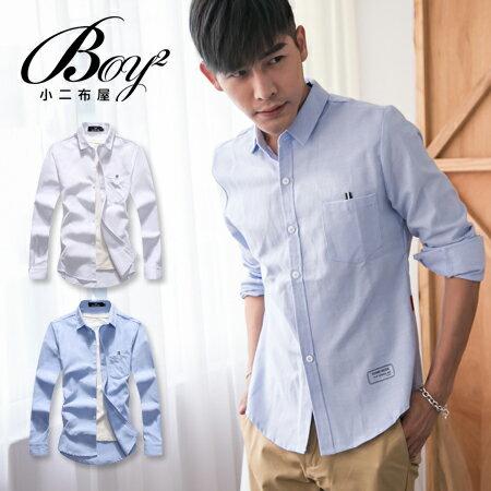 ☆BOY-2☆ 【OE50231】韓版紳士質感素面襯衫 0