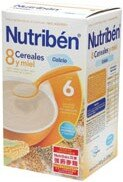 【安琪兒】西班牙【Nutriben 貝康】8種穀類強鈣麥精 600g 0