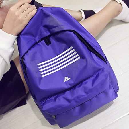 背包 韓BIGBANG同款線條刺繡後背包【O3026】☆雙兒網☆ 5