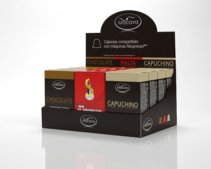 CAFETERA + 120 CAPSULAS A ELEGIR. 2