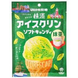 有樂町進口食品 UHA味覺糖 冰淇淋抹茶糖90g J62 4902750846432 1