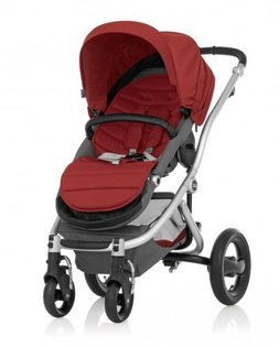 Britax - Affinity 四輪雙向推車 (紅) 加購Britax - Baby-Safe提籃享特價優惠!