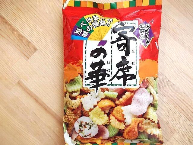 有樂町進口食品 神田製菓本舗寄席の華 綜合仙貝 J40 4973096000864 0