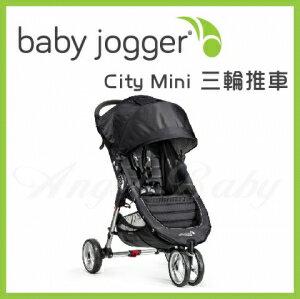 美國【Baby Jogger】City Mini 三輪推車(黑) 1