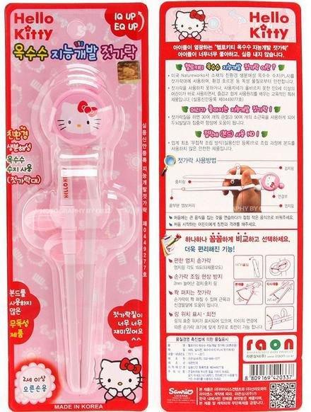 Hello Kitty 學習筷 - 限時優惠好康折扣