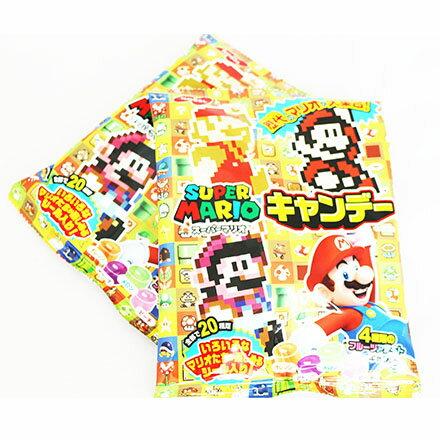 【敵富朗超巿】NOBEL 瑪莉兄弟糖果-附玩具(有效日期:2016.11.30) 0
