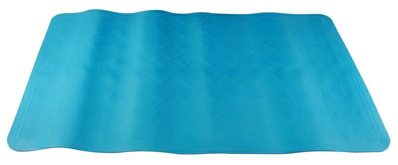 【凱樂絲】魔術防滑浴室墊(藍色) -背面密集吸盤-浴室, 廚房, 居家安全 保護 長輩, 小孩, 孕婦止滑,預防跌倒 2