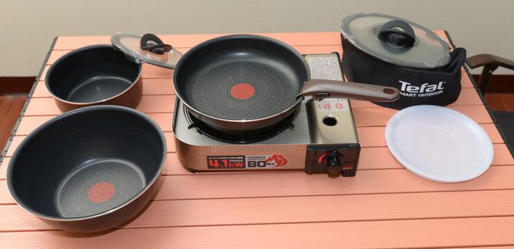 RV 桶 + 法國製 Tefal 特福巧變精靈8件鍋具特惠組 0