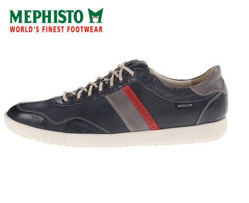 Mephisto 法國工藝皮革休閒鞋 墨綠 4