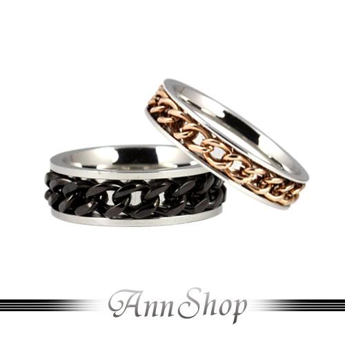 AnnShop【圍繞纏愛白鋼戒指.316L鋼】情人禮物r3010-r3010A
