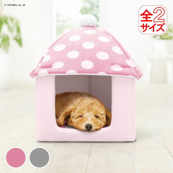 日本IRIS可愛水玉點點童話磨菇屋M、L號-犬貓用