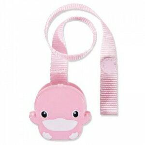 『121婦嬰用品館』KUKU 造型奶嘴帶夾( 粉 / 藍 ) 0