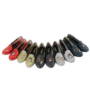 (現貨)BONJOUR三支腳樂福鞋☆香水口紅亮片造型2穿平底鞋C. 【ZB0223】5色 1