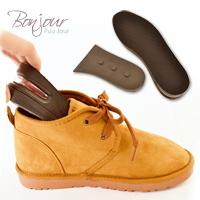 BONJOUR隱型內增高☆不能說的秘密.氣墊鞋墊~靴類/平底鞋/運動鞋/適用(3.5公分)F.【ZSD01】I.