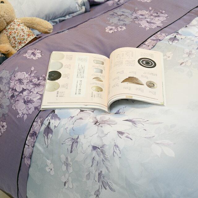 天絲床組  紫花風鈴木 多種尺寸組合賣場 100%木漿纖維 1