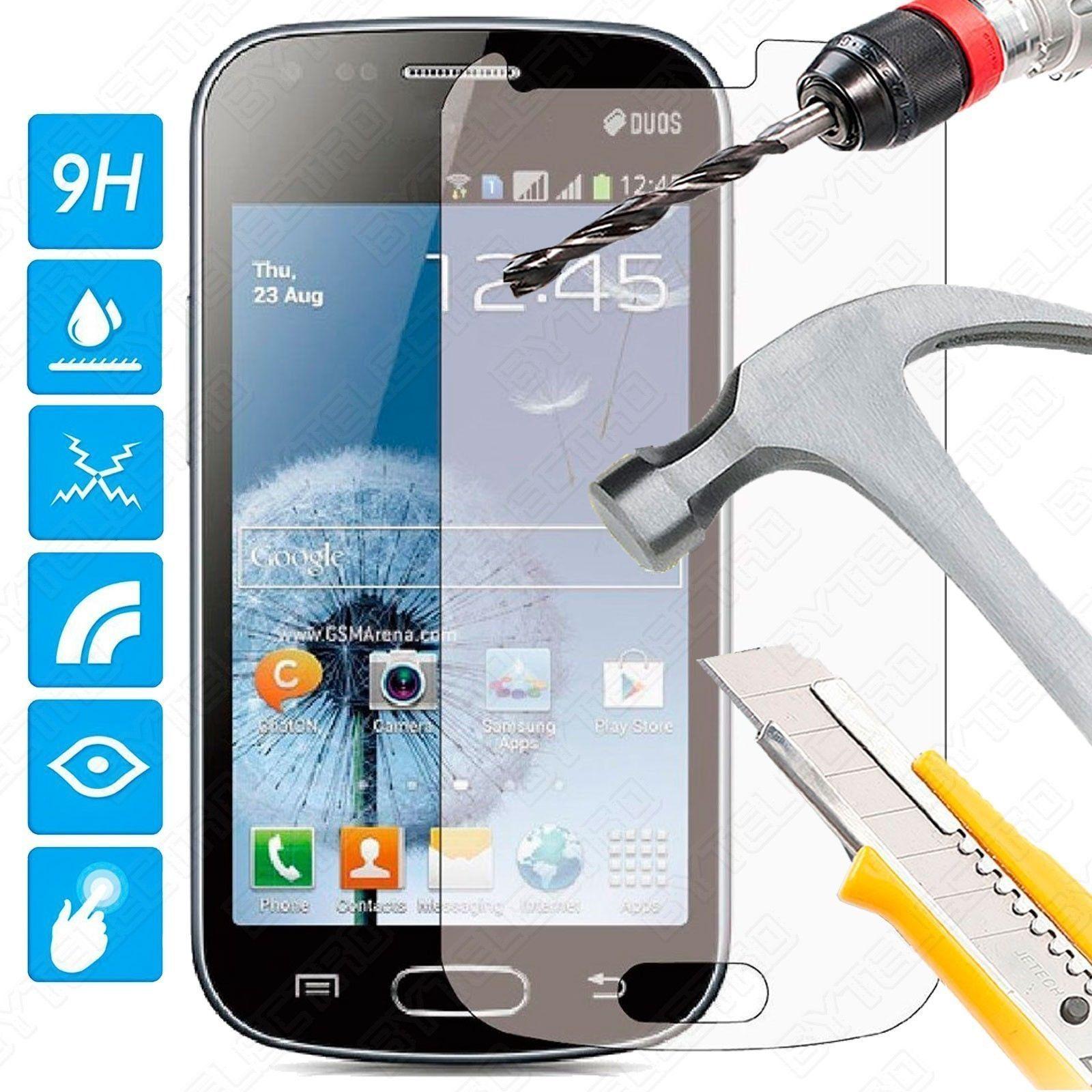 Protector Pantalla CRISTAL TEMPLADO PREMIUM Para Samsung GALAXY TREND S7560 / S DUOS 0